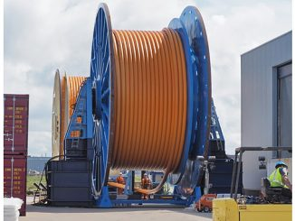 Airborne Oil & Gas TCP Flowlines being installed to an operator in West Africa