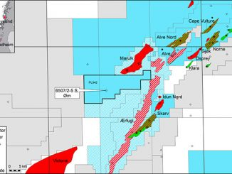 Ørn exploration well south-west of the Marulk field in the Norwegian Sea