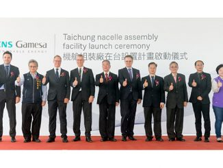 Taiwan facility launch ceremony (photo: SGRE)