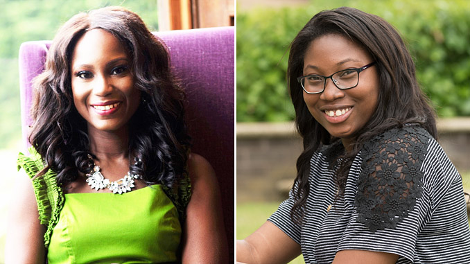 From left, co-chairs of Spirit Energy's Ethnicity Committee, Joy Egborge and Stephie Pascal
