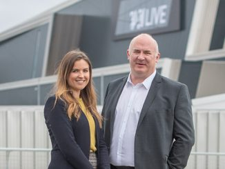 Kim Stephen, head of sales – conferences, meetings and banqueting at P&J Live and James Johnstone, director ProdChem – principal sponsors of the 2019 E-Reps Forum, October 2, 2019