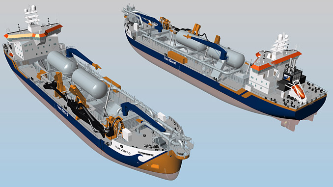Wärtsilä LNG fuel storage and supply system for two new trailing suction hopper dredgers