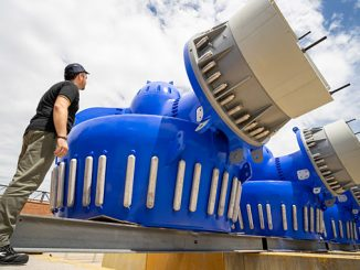 Each of the Wärtsilä thrusters for 'Sleipnir' is rated for 5.5 MW power