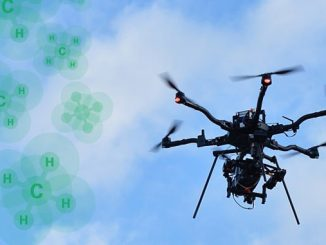 Drones equipped with space-age sensors are part of a wave of advanced technology zooming into operation at BP's new major oil and gas processing projects as part of a programme to continuously measure methane emissions