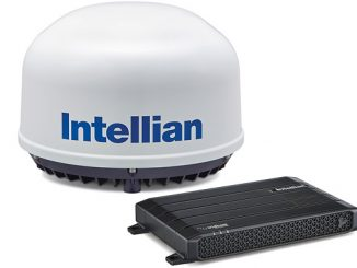 The Intellian C700 will deliver up to 352 kbps transmission and 704 kbps reception speeds through the Iridium Certus platform