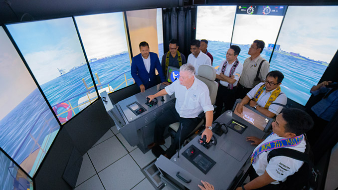 The Wärtsilä LNG Bunkering Vessel simulator will enable realistic hands-on training for operators