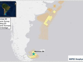 3D project offshore Argentina