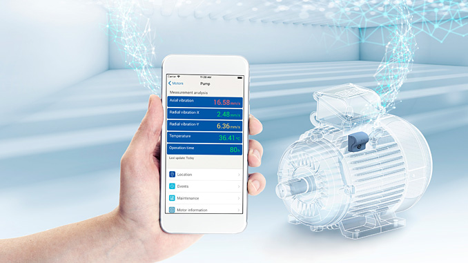 WEG Motor Scan, a performance monitoring solution for electric motors that ensures high levels of operating excellence via predictive analysis