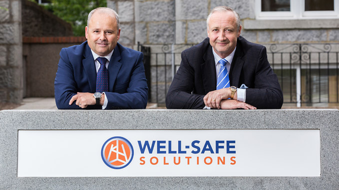 Well-Safe Solutions chief executive, Phil Milton and founding executive director, Mark Patterson