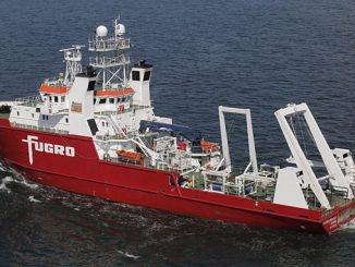 'MV Fugro Brasilis' is a highly advanced DP1 survey vessel, ideally suited to perform geophysical, geotechnical, oceanographic, environmental, seep hunting and ROV surveys in Brazil and South America