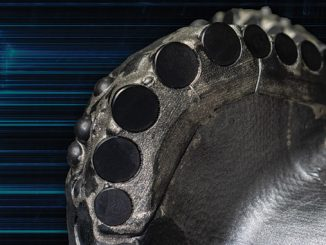 Aegis armour cladding technology leverages material science to improve bit body design flexibility and erosion resistance