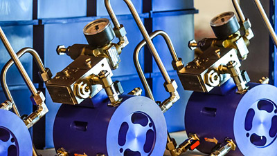 Oxford Flow's core innovation, a pressure reducing value (PRV) with a direct sensing piston actuator instead of a diaphragm, was, at first, launched to water networks (photo: Oxford Flow)