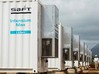 Saft specialises in advanced technology battery solutions for industry, from design and development to production, customisation and service provision (photo: Total)