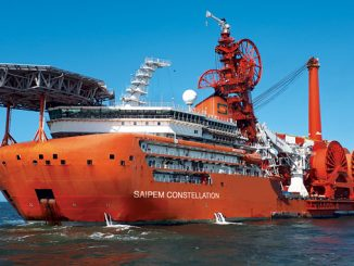 'Saipem Constellation' – an ultra deepwater rigid and flexible pipelay, heavy lift, construction DP 3 vessel