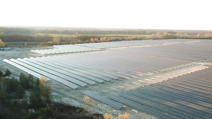 Scatec Solar's 55 MW Chigirin project in Ukraine (photo: Scatec Solar)