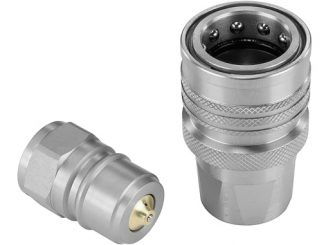 The new QRC-HUS plug-in coupling uses the 'Nordic design' and is used primarily in Scandinavian mechanical engineering