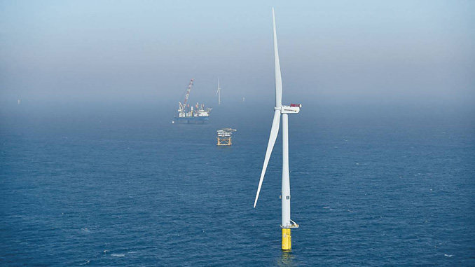 Horns Rev 3 wind farm in the North Sea, 25 to 40 kilometres off the Danish Jutland coast, is a defining point for Vattenfall's production of wind power in Denmark and the rest of Europe
