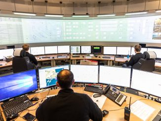 Snorre A platform control room in the North Sea (photo: Equinor ASA/Even Kleppa – Woldcam)
