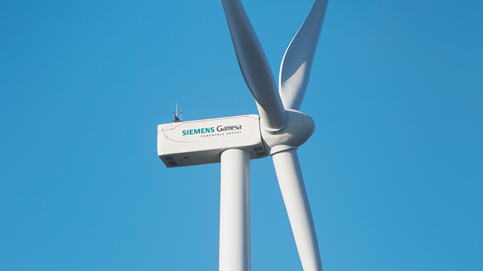 The first of Siemens Gamesa's new SG 5.0-132 model of wind turbines will be installed on the island of Thyholm, close to the Limfjorden fjord in Denmark