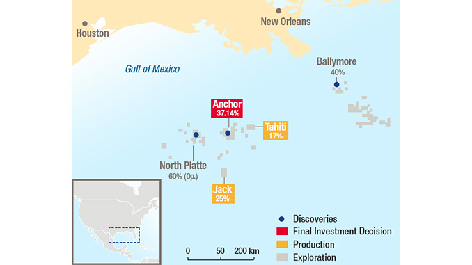 Total in the US Gulf of Mexico