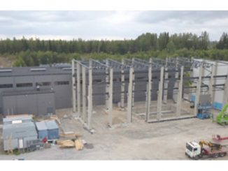 Completion of the new Large Drive Test Center in Lappeenranta is planned for spring 2020