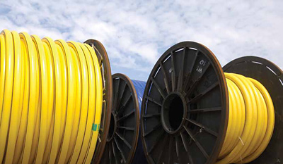 "The ""spoolable"" nature of the of flexible pipe can bring significant savings to the total installed cost of both flowlines and risers (photo: Baker Hughes)"