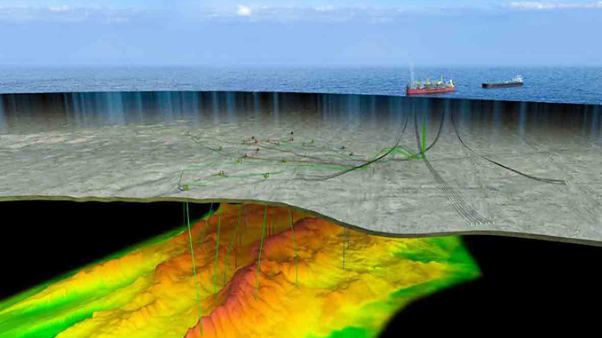 The Bacalhau field is located 185 kilometres from the coast of the State of São Paulo, in water depths of 2,050 metres (illustration: Equinor)