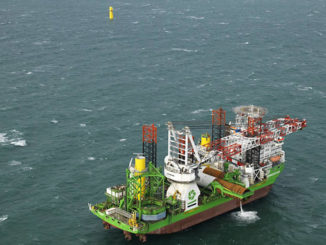 Installation of the first foundations at the 752 MW Borssele 1 & 2 offshore wind farm