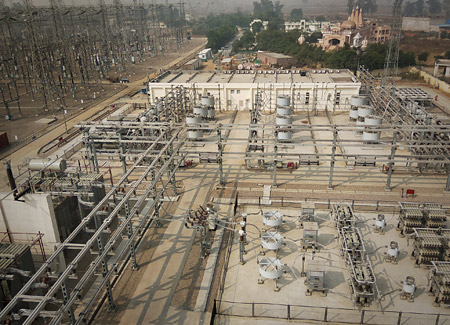 At that time, the worldwide larges SVC Classic, Ludhiana substation in India