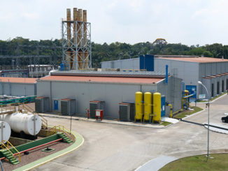 The Cristiano Rocha power plant in Manaus, Brazil