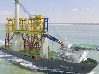 Wärtsilä's comprehensive thruster solution will enable an existing hull to become the crane vessel 'Bokalift 2'