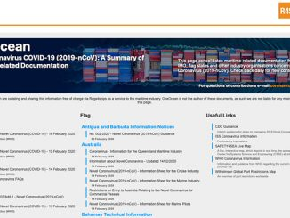OneOcean's live updates are delivered using its maritime regulation database, Regs4ships